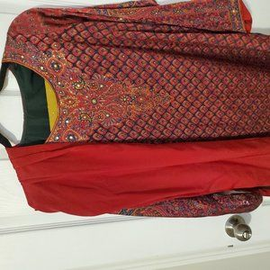 Custom South Asian outfit